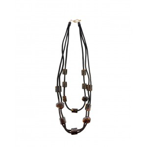 No.Nu necklace Maculated Rope AW19