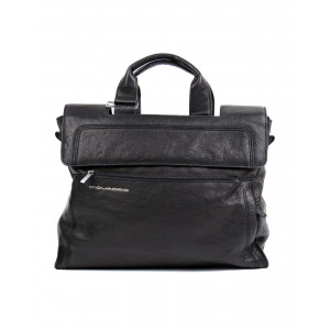 Piquadro black briefcase
