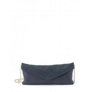 Borbonese Envelope bag grigio scuro PE17