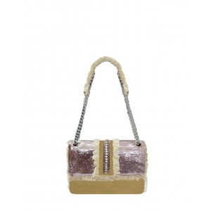 Mia Bag strap bag Sequins beige S17