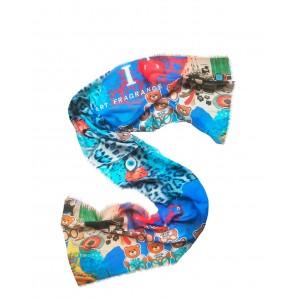 Siberian Soup Fullart stripe scarf Virtuoso