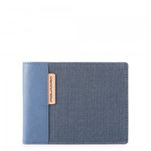 Piquadro light blue wallet SS19