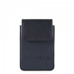 Piquadro blue credit card holder SS19
