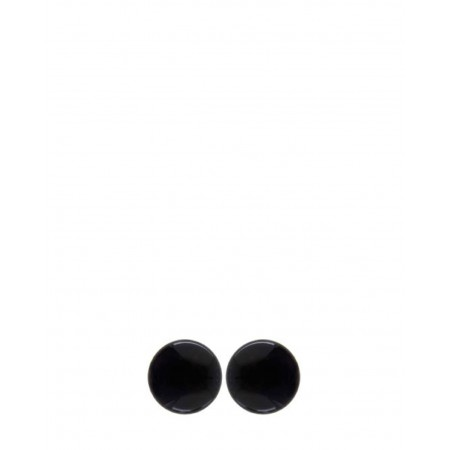 No.Nu earrings Disco Button AW19