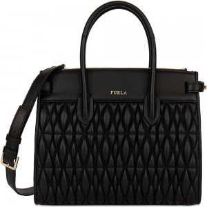 Furla bag Pin Cometa black AW19