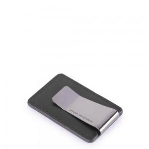 Piquadro Bold money clip black