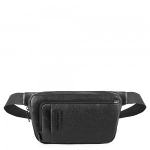 Piquadro bum bag P15 Plus black