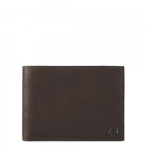 Piquadro dark brown men's wallet with RFID