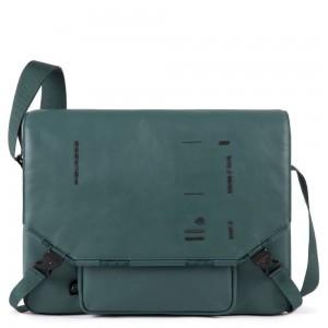 Piquadro briefcase Messenger Kyoto green SS20