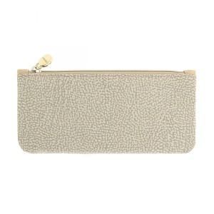 Borbonese flat pouch OP beige SS20
