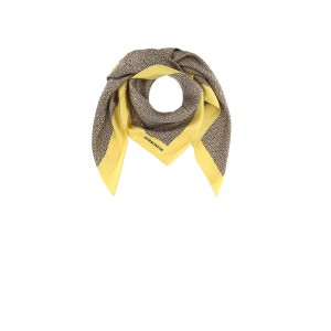 Borbonese foulard natural OP and yellow SS20