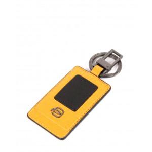 Piquadro yellow keychain Akron AW20