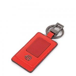 Piquadro red keychain Akron AW20