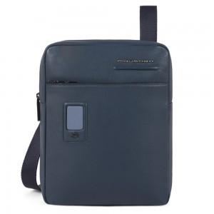 Piquadro customizable bag Akron blue AW20