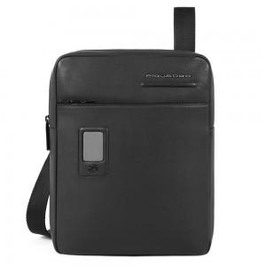 Piquadro customizable bag Akron black AW20