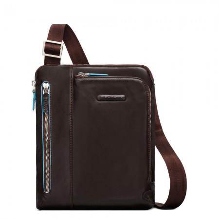 Piquadro purse two pockets mahogany AW20