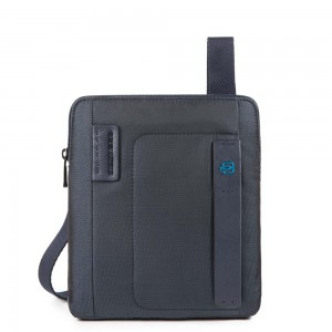 Piquadro blue iPad bag AW20