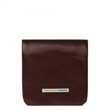 Piquadro soft mahogany coin purse AW20