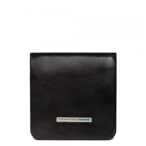 Piquadro soft black coin purse AW20