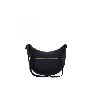 Borbonese Luna bag black medium SS21