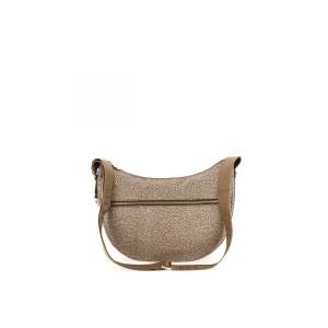Borbonese Luna bag beige medium SS21