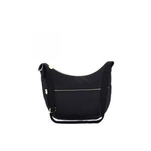 Borbonese Luna bag black large SS21