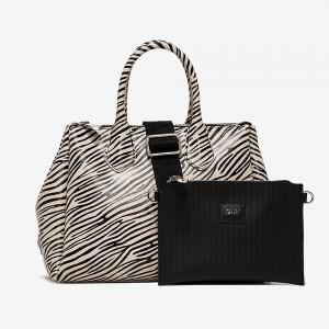 Gum handbag Fourty Zebra SS21