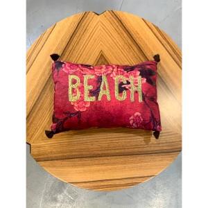 Fleur De Pirate pillow Beach