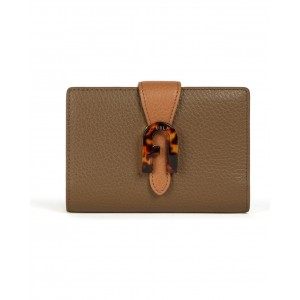 Furla compact wallet Sofia Grainy mud SS21