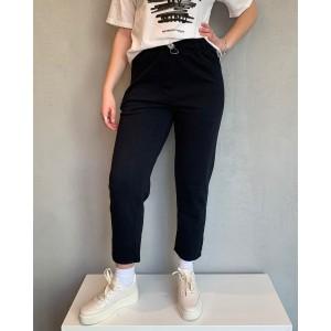 Noumeno Concept black trousers SS21