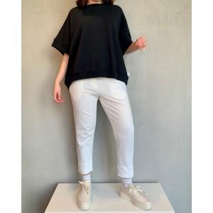 Noumeno Concept white trousers SS21