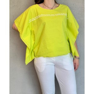 Noumeno Concept yellow T-Shirt SS21