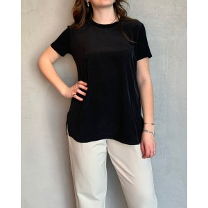 Max Mara T-Shirt Posato black SS21