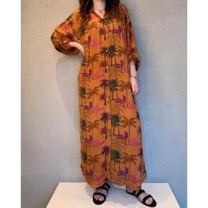 Wild dress Harper Caramel SS21