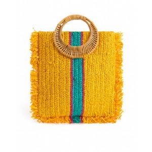 Wild handbag Comores Yellow SS21
