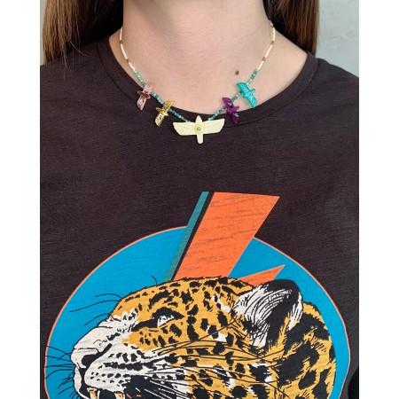 Hipanema necklace Alessa White SS21