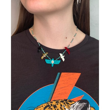 Hipanema necklace Alessa Turquoise SS21