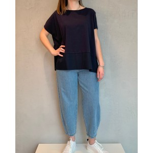1978 blue navy blouse Fresia SS21