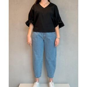 1978 black blouse Oslo SS21