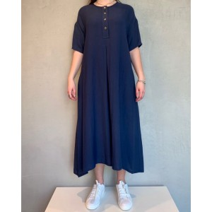 Neirami Corfù blue dress SS21