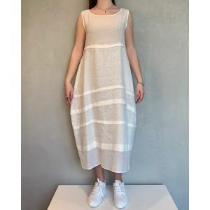 Neirami Tofu white dress SS21