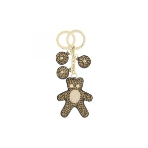 Borbonese keychain Bear beige SS21