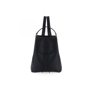 Borbonese backpack medium black SS21