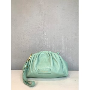 My Best Bags small green clutch SS21