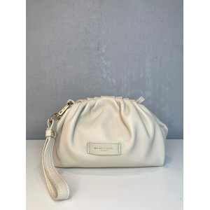 My Best Bags small white clutch SS21