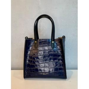 My Best Bags handbag blue crocodile SS21