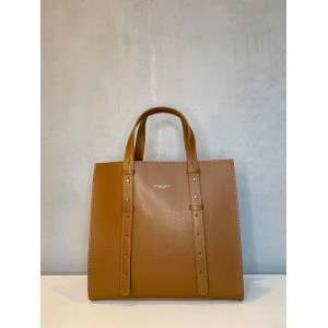 My Best Bags brown shopping bag SS21