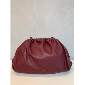 My Best Bags clutch bag burgundy large SS21