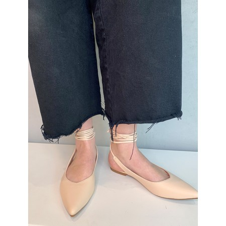 Shoes Formentini beige ballerina shoes