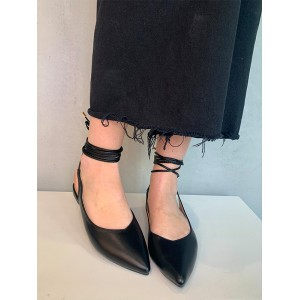 Shoes Formentini black ballerina shoes